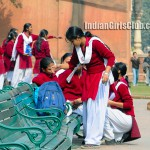 chennai school girls pics at ooty tour