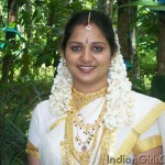 kerala girl in set saree who is a keralite bride in indian marriage
