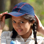 mallu actress acting as a school girl in tamil movie