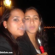 2 desi babes smoking