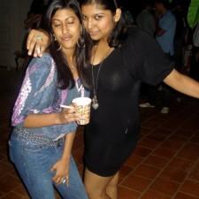desi chicks enjoying party