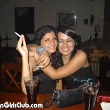 desi girls hugging each other