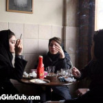 hot arab girls smoking