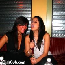hot girls at pub