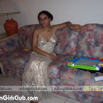 indian babe sitting on sofa