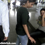 indian girl in jeans pant