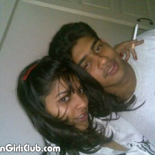 indian lover girl with her boyfriend