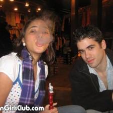 nri girl smoking with boyfriend