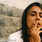 pakistani college girl smoking