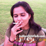 pakistani college girl smoking cigarette