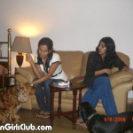 pakistani girls smoking at home