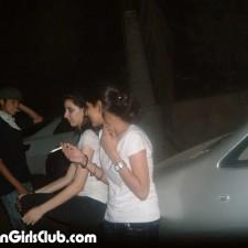 pakistani girls with boyfriends car