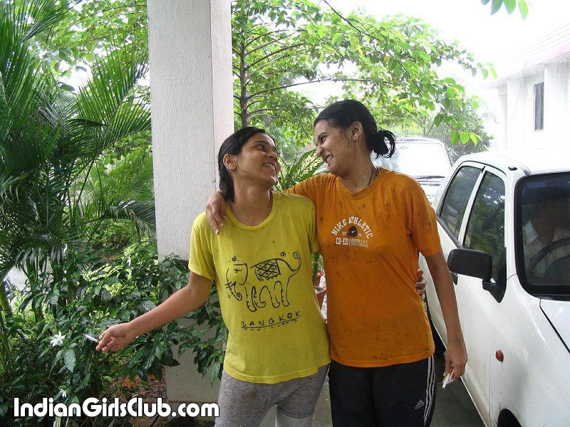 preteen young indian school girls