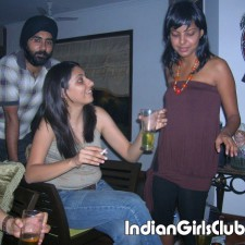 sexy punjabi girl drinking and smoking