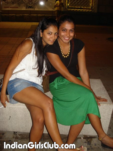 short skirt indian girl smoking