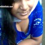 tamil girls in blue chudidhar