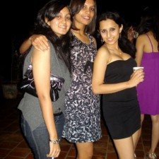 three cute desi chicks