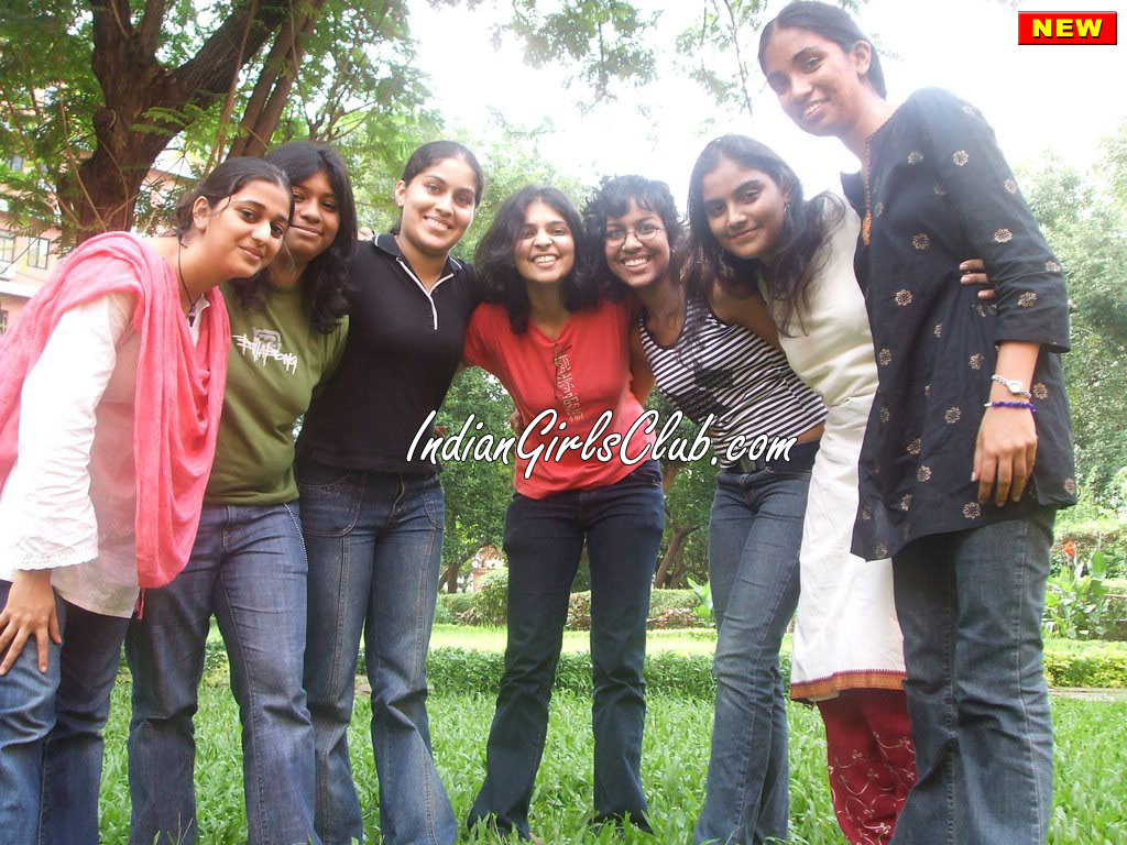 jeans desi girls in park