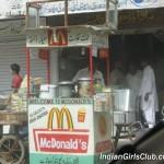 funny pics mcDonalds in Pakistan