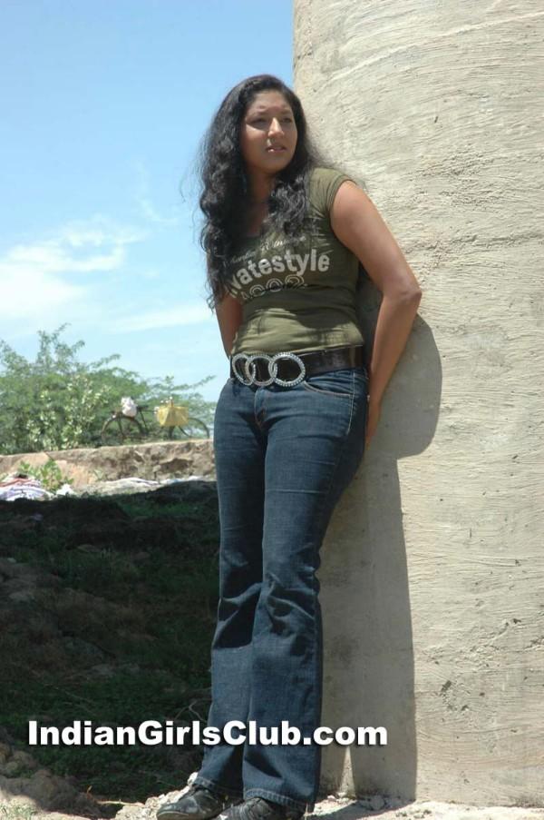 south indian actress tight jeans pant t-shirt