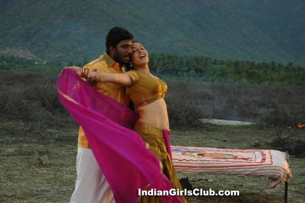 tamil actress pavadai blouse costume