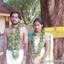 kerala wedding bride and bride-groom