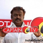 actor vijaykanth captain tv logo launch