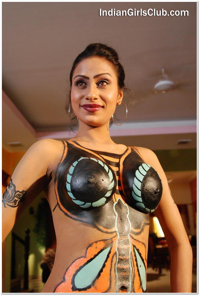 body art tamil girls