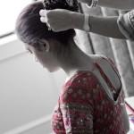 desi hair style bride