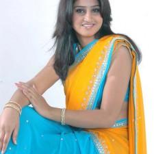 real life girls saree