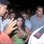 security guard pressing haifa wehbe boobs