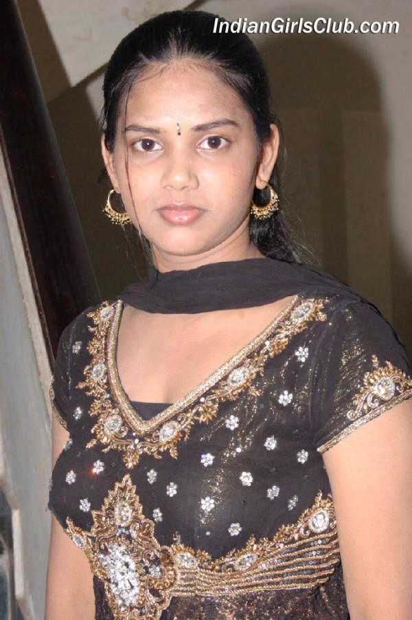 south indian girl in black chudidhar