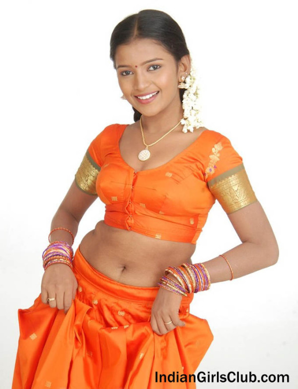 south indian girls pavadai blouse pics