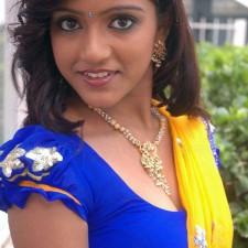 tamil girls blouse and half saree pics