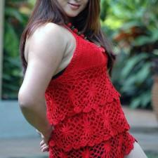 sexy thunder thigh show actress farah khan
