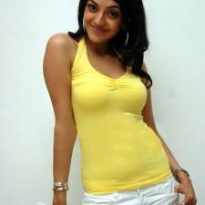tight tshirt actress kajal agarwal