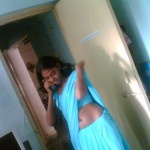 indian girls real life saree navel