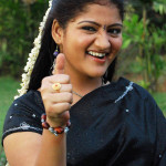Kandupuduchittaen actress black saree