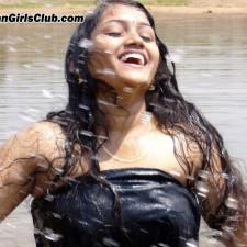 river tamil girl bathing river