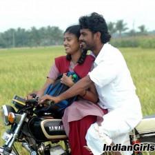 school girl driving bike lover