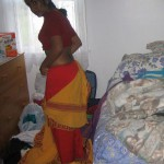 Bharatanatiyam Girl Undressing in Room