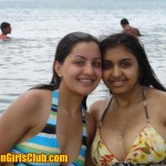 sexy nri girls on beach BOOM BOOM