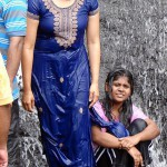 Wet Tamil College Girls Bathing in Kodaikanal