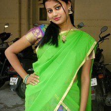 south indian telugu girls half saree pics