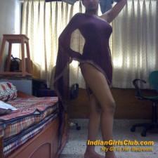 my gf in her bedroom 3