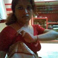 tamil girls blouse saree