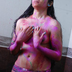 girls holi celebration 3