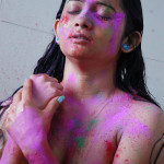 girls holi celebration 7