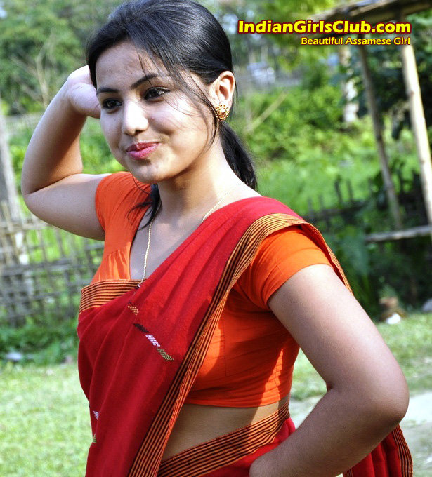 Nude black indian girl with