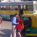 Indian School Students Kissing in Public
